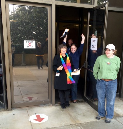 The day marriage equality hit AL!